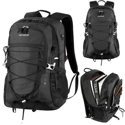 Outdoor Riding Hiking Daypack Computer Backpack Military Tactical Rucksack Large