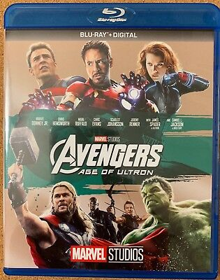 Marvel Avengers Age Of Ultron Blu Ray Free World Shipping Iron Man Hulk Thor