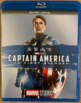 Marvel Captain America The First Avenger Blu Ray Free World Shipping Chris Evans
