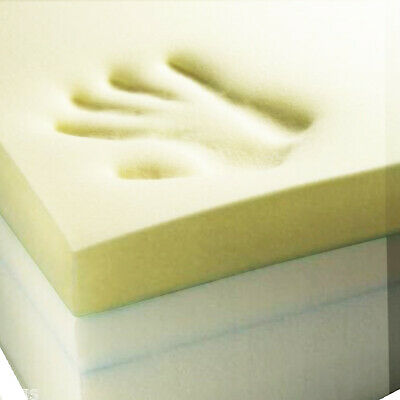 Memory Foam Mattress Toppers Remote Delivery Sizes 3ft To 6ft And Depth 1in-4inc
