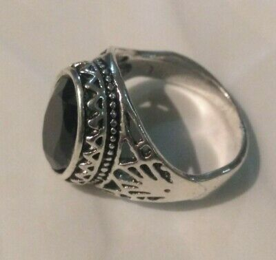 ANCIENT ANTIQUE OLD VINTAGE RARE VIKING ETHNIC SILVER Handcraft Quality RING