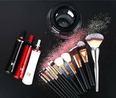 2019 AU Electric Makeup Brush Cleaner And Dryer Set Includes Brush Collar Stand