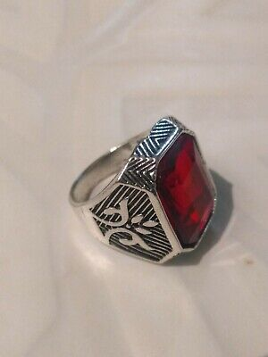 ANTIQUE ANCIENT OLD VINTAGE RARE VIKING ETHNIC SILVER Handcraft Quality RING