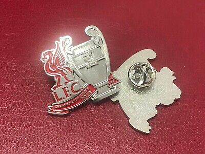 Liverpool FC Champions League Winners Pin Badge 2019