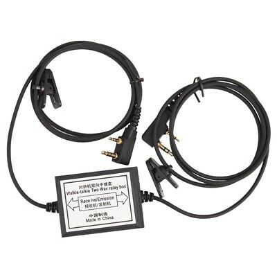 RPT-2K Two Way Relay Walkie Talkie Repeater Box For Two Handheld Radio Baof P3J5