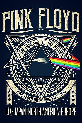 50. PINK FLOYD VINTAGE BAND ALTERNATIVE ROCK CONCERT MUSIC POSTERS A4 300gsm