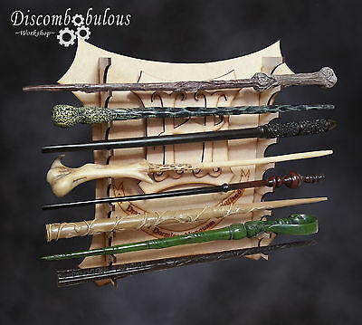 Harry Potter Wand Stand Kit, Wand display, Wand Holder, *Wands not included*