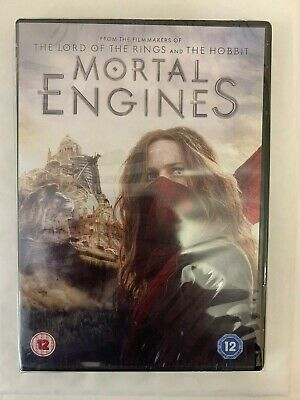 Mortal Engines DVD New Sealed Free delivery