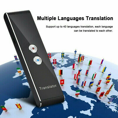 Translaty MUAMA Enence Smart Instant Real Time Voice Languages Translator New