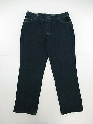 f077a0dba0eafc NWT Dickies Women's Relaxed Fit Flannel Lined Denim Jeans Size 18R #D691