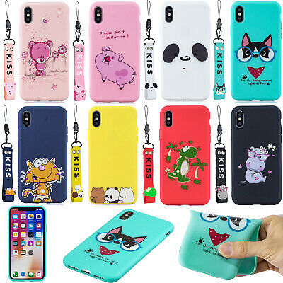 Cute 3D Strap Patterned Silicone Rubber Soft Back Lot Case Cover Bumper Ultra SZ