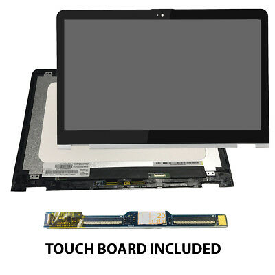 """15.6/"""" LED LCD Touch Glass w Digitizer For HP Envy M6-W011DX X360 M1V60UA"""