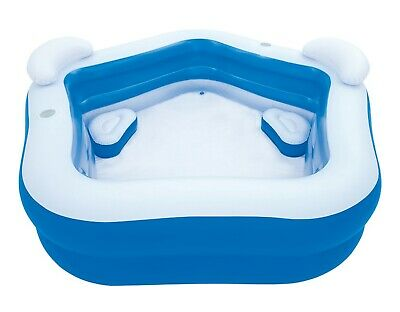 Bestway Family Pool Fun Planschbecken Schwimmbad Kinderpool 213x207x69 cm