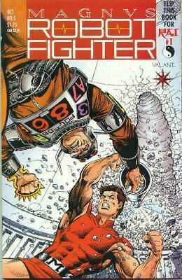 Magnus Robot Fighter (1991) #   5 VF/NM with Coupon 1st Appearance Rai