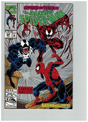 Amazing Spider-man (1963) # 362 2ND PRINT (6.0-FN) 2ND APP CARNAGE