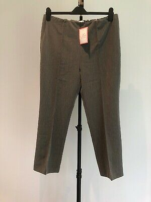 Ladies Lovely Summer Grey Trousers Size 18 Julipa