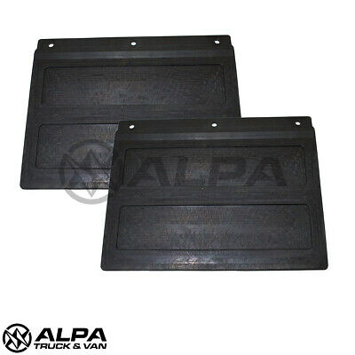 Pair Ford Transit MK8 Rear Mudflap - Tipper / Chassis Cab - Single Rear Wheel