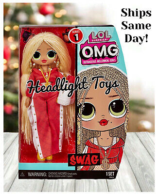 1 Authentic Lol Surprise 10 Swag Omg Fashion Doll Mc Winter