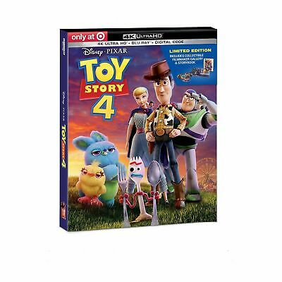 Toy Story 4 (Target Exclusive) (4K Ultra HD + Blu-ray + Digital)