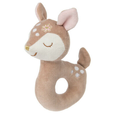 """Mary Meyer Itsy Glitzy Fawn 6"""" Baby Rattle"""