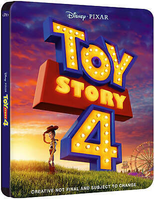 Toy Story 4 3D (Includes 2D Blu-Ray) - Zavvi Exclusive Steelbook Region Free