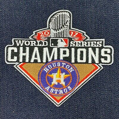 2b42cd45 Houston Astros 2017 World Series Champions Jersey Logo Patch Iron On