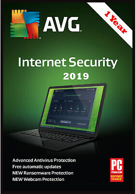 AVG Internet Security 2019 (Lowest Price)