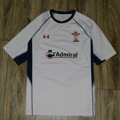 Wales Home Under Armour Rugby Shirt Jersey Size M