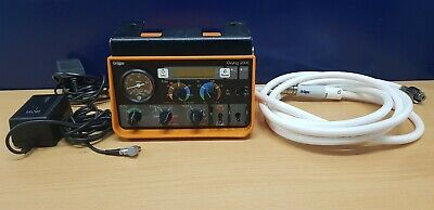 Drager Medical Oxylog 2000 Ventilator with power adapter and hose - dreager