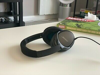 Bose QuietComfort 25 QC25 Noise Cancelling Over the Ear Headphones - Black