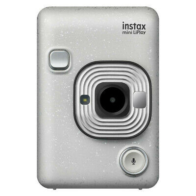 New Fujifilm Instax Mini LiPlay Instant Camera - White