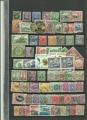World British commonwealth stamps lucky dip 1474