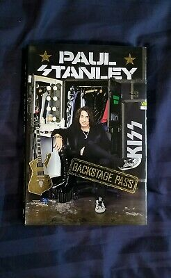 Paul Stanley - Backstage Pass - Signed Book KISS Autograph - First Edition