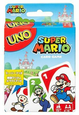 Uno Super Mario Card Game For Kids Boys Girls 2 3 4 5 Age Old