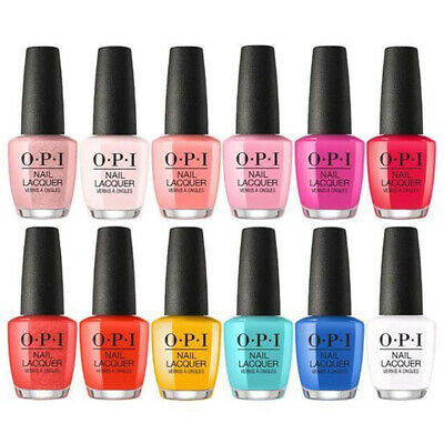 OPI Lisbon Spring Summer 2018 Full Size Nail Polish Lacquer Collection, You Pick