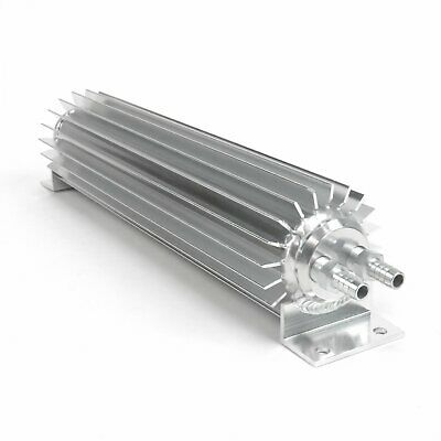 """12"""" Finned Aluminum Double Pass Transmission Trans Cooler - Dual Line Universal"""