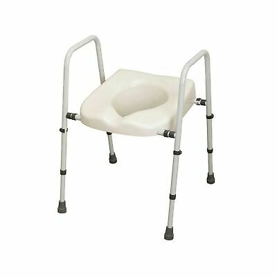 NRS M66613 Mowbray Toilet Seat and Frame Lite - Width Adjustable, Flat Pack (...