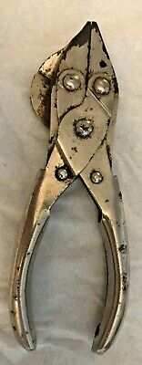 Vtg. Sargent & Co. Parallel Jaw Snip Pliers,  W/Side Cutter