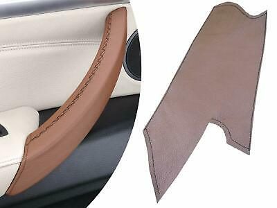 Door Handle Cover BMW X5 E70 & X6 E71- Brown leather for LEFT passenger handle