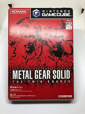 GC -METAL GEAR SOLID THE TWIN SNAKES- Japan Gamecube Rare