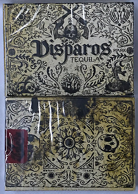1 Deck Prohibition V1 Disparos Tequila Playing Cards~Ellusionist~Free Shipping