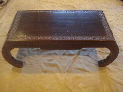 Chinese Antiquse hardwood carved tables