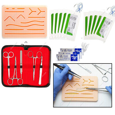 20pcs/set Complete Suture Practice Kit With Silicone Suturing Padded Suture