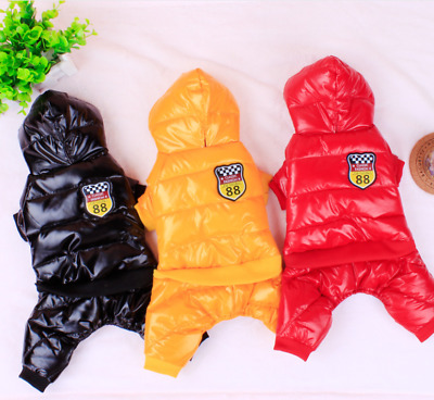 New SMALL to EXTRA LARGE Dog Waterproof Warm Winter Quality Coat Jacket Clothes