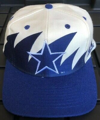 6276c402360ed8 Vintage 90s Dallas Cowboys Logo Athletic Sharktooth SnapBack Hat Cap NFL