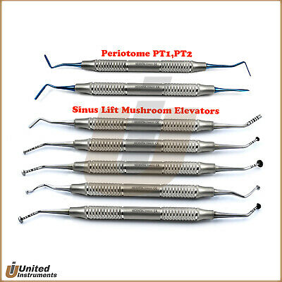 Tunneling Sinus Lift Periosteal Mushroom Elevators Implant PDL Perio Ligament CE