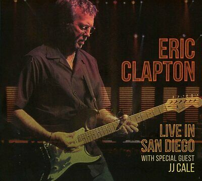 Eric Clapton - Live In San Diego With Special Guest Jj Cale - Cd - New
