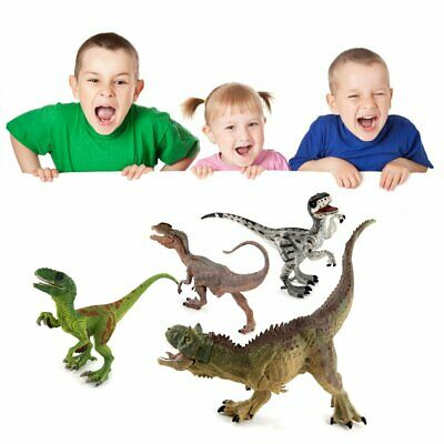 Plastic Dinosaur Model Action/&Figure Toy Kids Sand Table Scenery Accessory JX