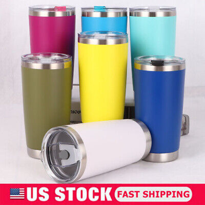 Stainless Steel Tumbler Vacuum Double Wall Insulation Travel Mug Cup Coffee 20oZ