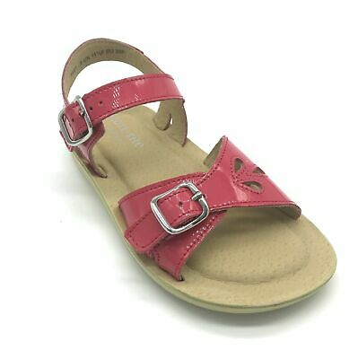 Start-rite Soft Harper Hot Pink Leather Girl's Buckle Sandals 30% OFF RRP